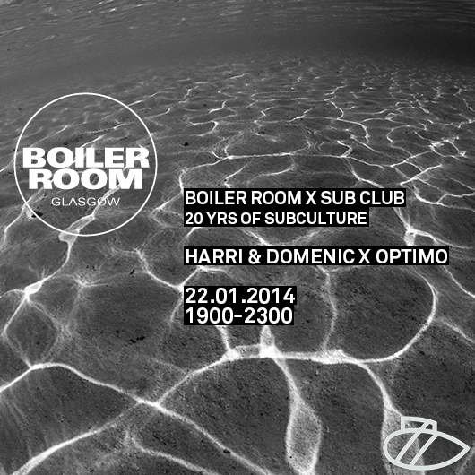 Sub Club 20yrs of Subculture - BOILER ROOM