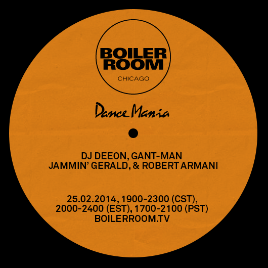 Dance Mania Boiler Room Chicago Flyer Image