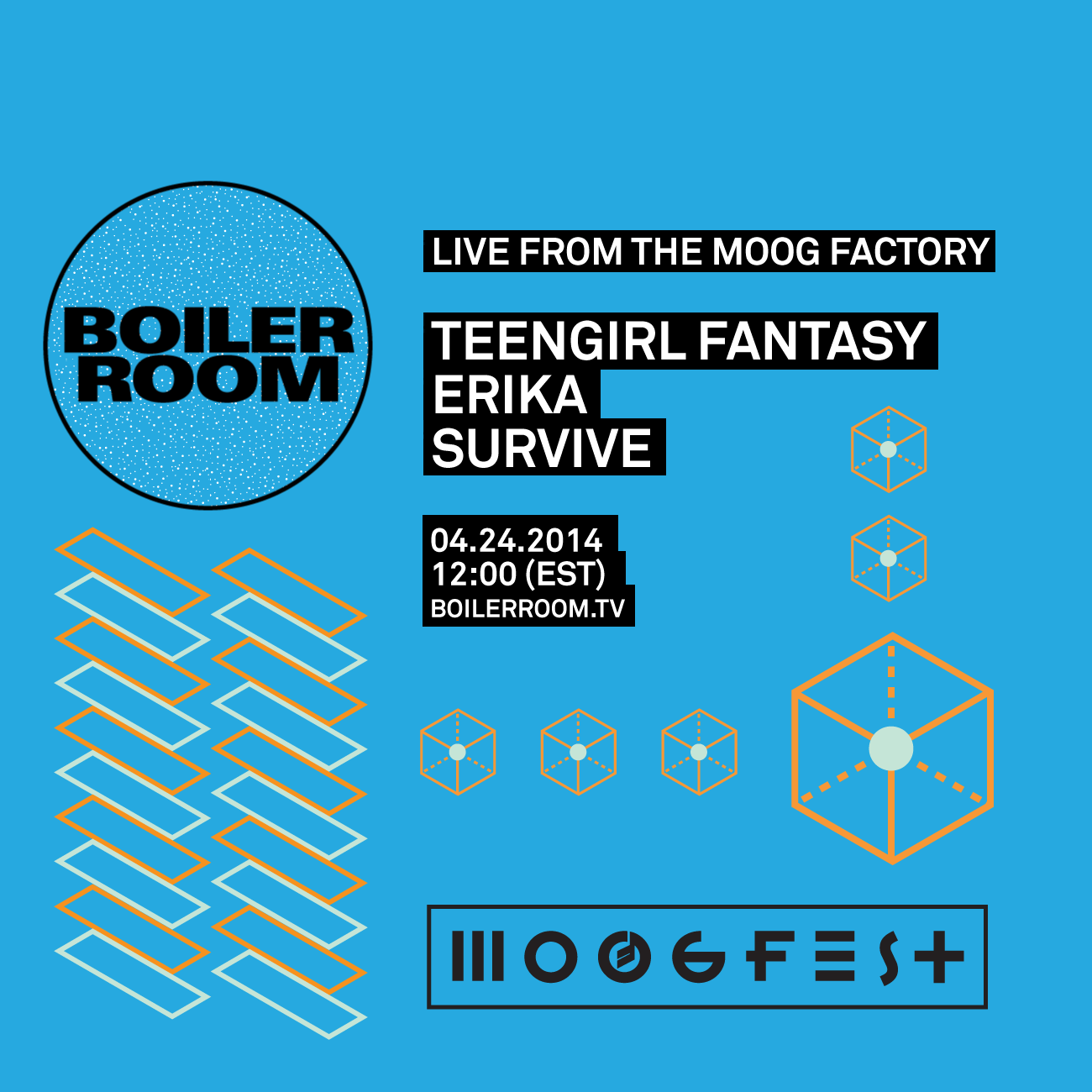 Live From the Moog Factory Flyer Image