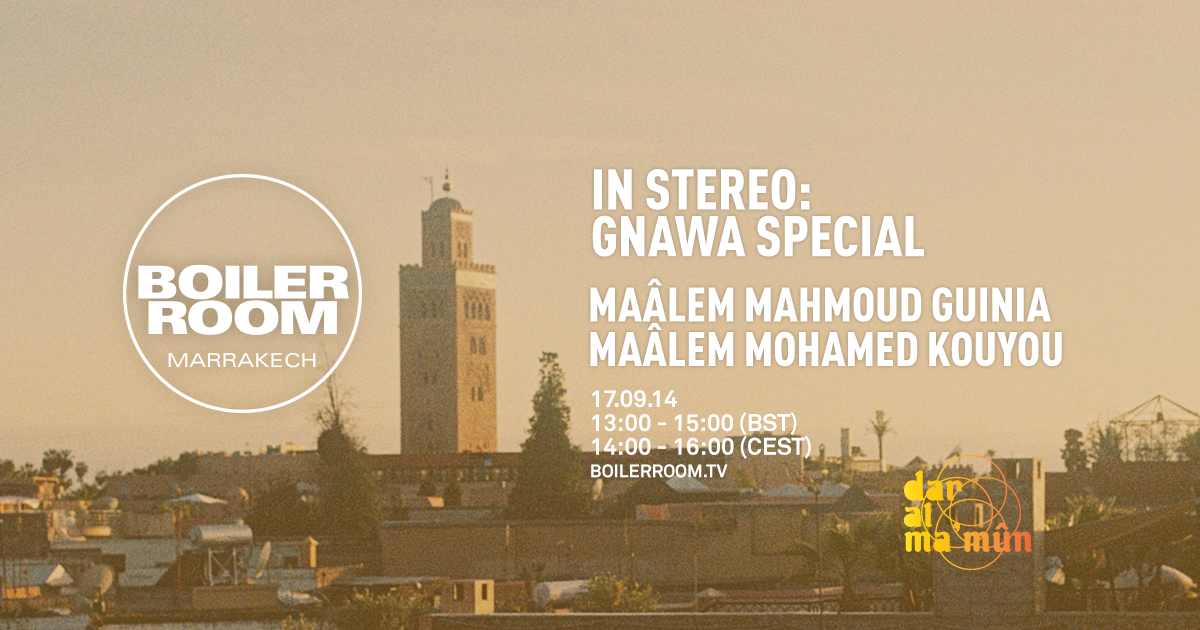 In Stereo: Gnawa Special Flyer Image