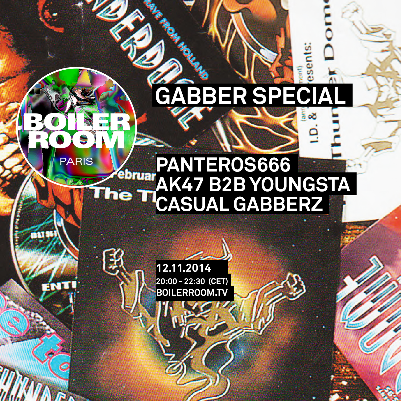 gabber party!
