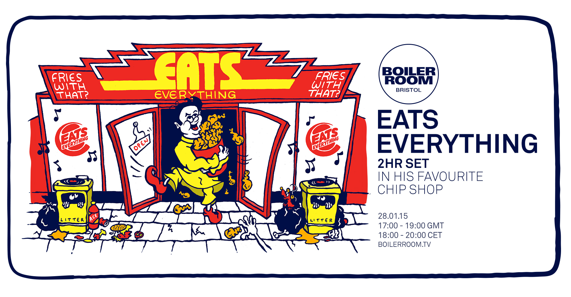 Eats Everything: Chip Shop Special Flyer Image