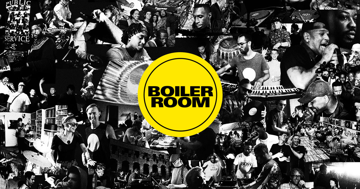 BOILER ROOM: watch - listen - dance