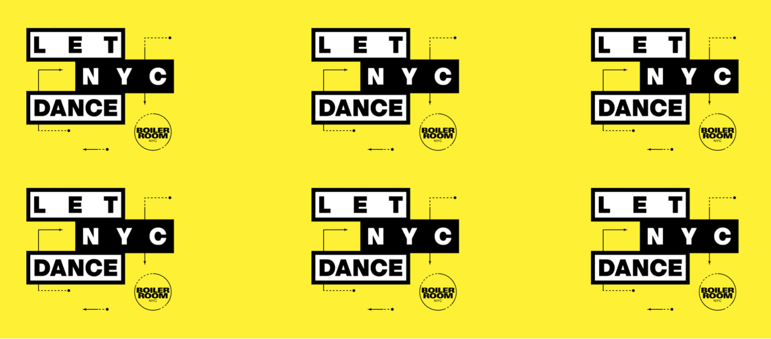 Let NYC Dance Flyer Image